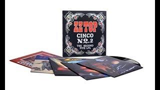 ZZ Top Cinco No. 2 - The Second Five LP's