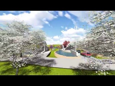 Habitat in Community in Algonquin College, Ottawa, Canada, Lumion Video