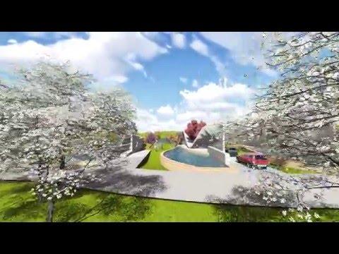 Habitat in Community in Algonquin College, Ottawa, Canada, Lumion Video