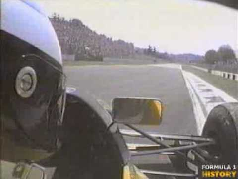 1992 SanMarino Schumacher Crash