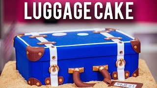 How To Make A LUGGAGE CAKE! Kick Off The New ...