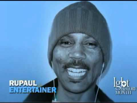 LGBT History Month - RuPaul from YouTube · Duration:  31 seconds