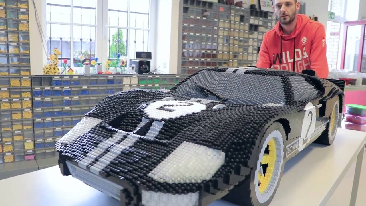 Lego Ford Gt At Le Mans  Hours