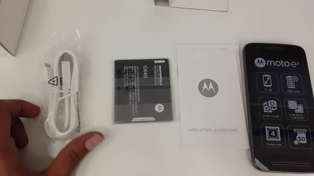 Motorola Moto E3 XT1700 By Lenovo 5 Android Unboxing