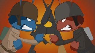Army Antz - Animated Cartoons Trailer