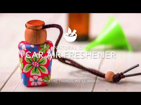 Natural DIY Car Air Freshener