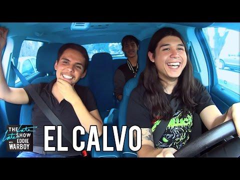Carpool Karaoke Rockero con El Calvo | Parodia en Español