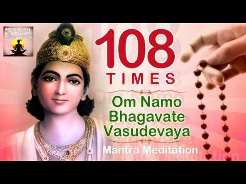 OM NAMO BHAGAVATE VASUDEVAYA | 108 Chanting | Vishnu and Krishna Mantra Meditation