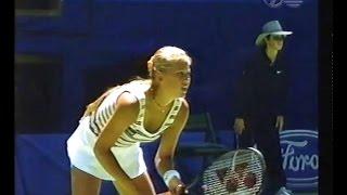 Anna Kournikova vs Martina Hingis, Australian Open Tennis 1998