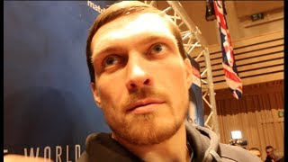 'YOU LIKE STEAK WITH BLOOD OR NO BLOOD?' - OLEKSANDR USYK ON 'MOST DANGEROUS OPPONENT' TONY BELLEW