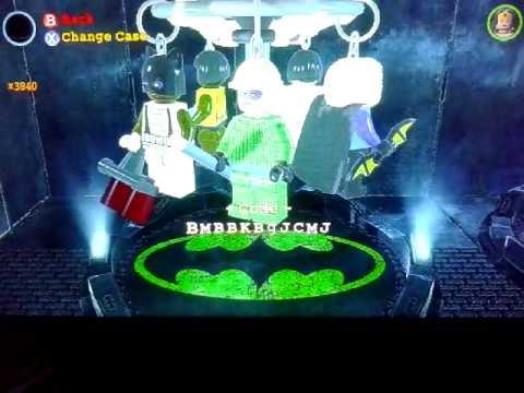 Lego Batman 2 Custom Characters Recycler Youtube