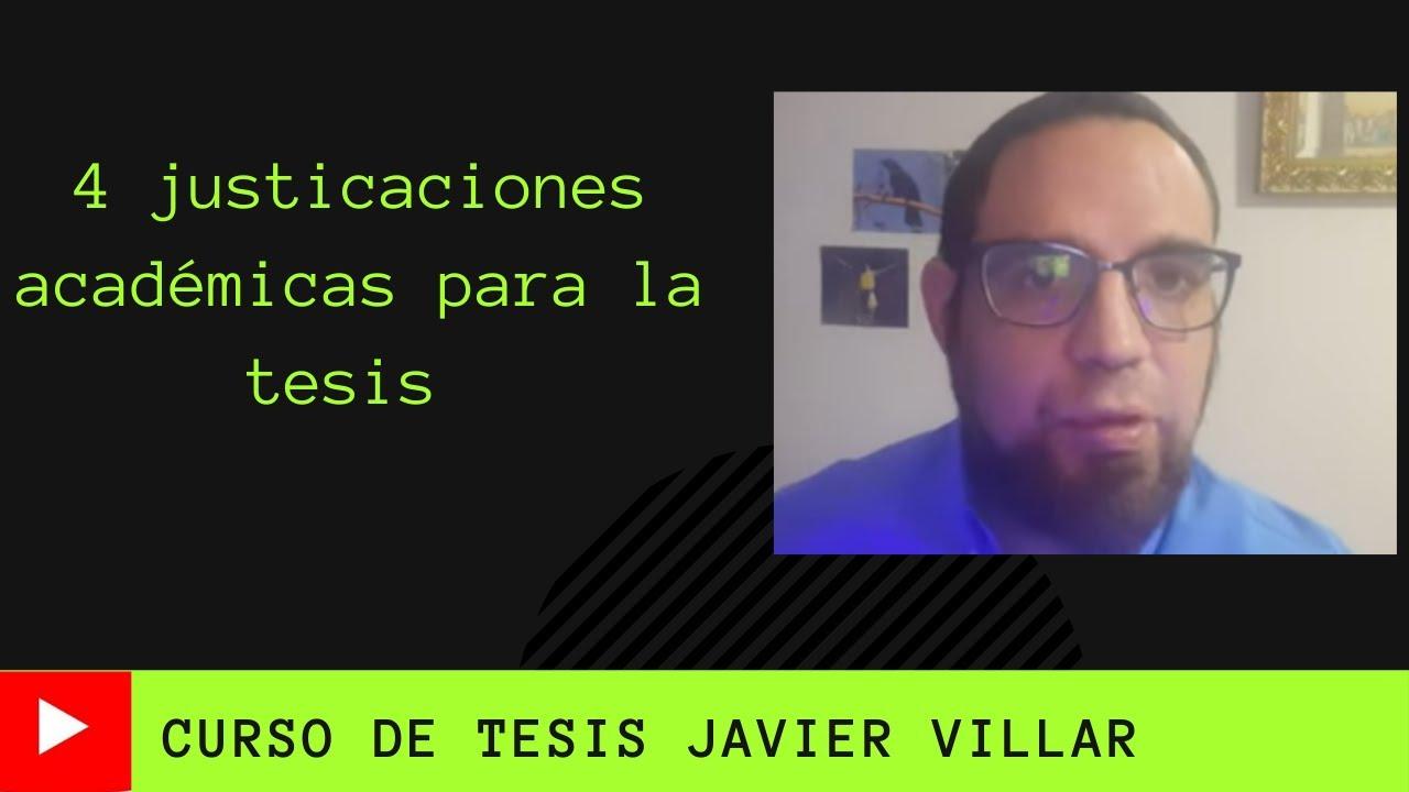 4 tipos de Justificación para la Tesis, según Sampieri, en el Planteamiento del problema.