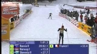 Чемпионат мира 2006, Pokljuka, смешанная эстафета