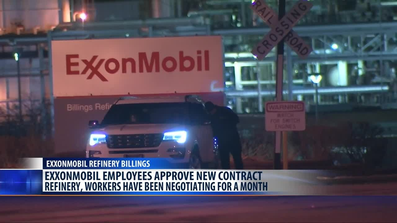 ExxonMobil refinery workers in Billings ratify new contract
