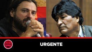El tenso momento que vivió Juan Grabois en un aeropuerto de Bolivia