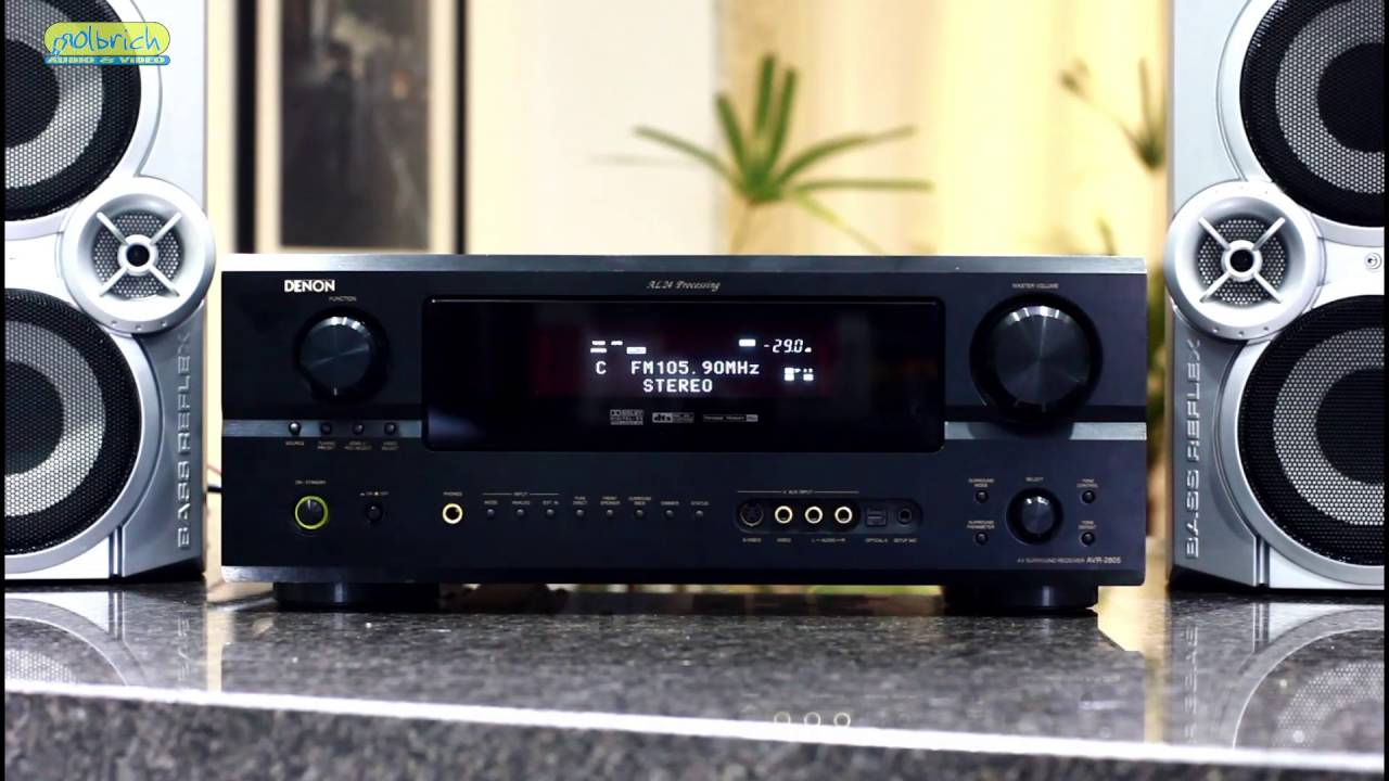 Receiver Denon AVR-2805 - Home Theater 7 1 DTS