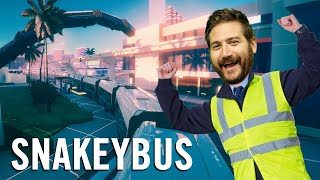 I Like Big Bus and I Can Not Lie - Snakeybus Gameplay