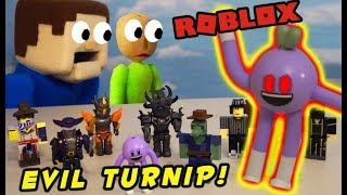 BALDI'S BASICS BET of ROBLOX Fall 2018 Figures - Is Todd the Turnip EVIL?!