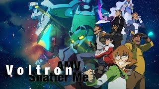 voltron amv shatter me warning if you have epilepsy i do not recommend watching this amv