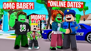 MY ZOMBIE MOM CHEATED ON MY DAD in Roblox Brookhaven RP