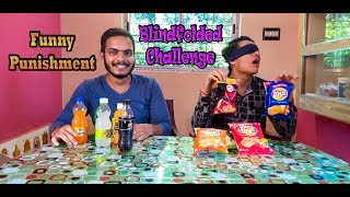 Blindfolded Challenge in Hindi | Andhadhun | Funny Punishment | Eating Lions