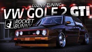 Luźny Tuning: VW GOLF 2 GTI RWD ROCKET BUNNY! - Forza Horizon 4