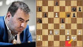 Oh Hell No!    Mamedyarov vs MVL    Riga FIDE Grand Prix (2019)