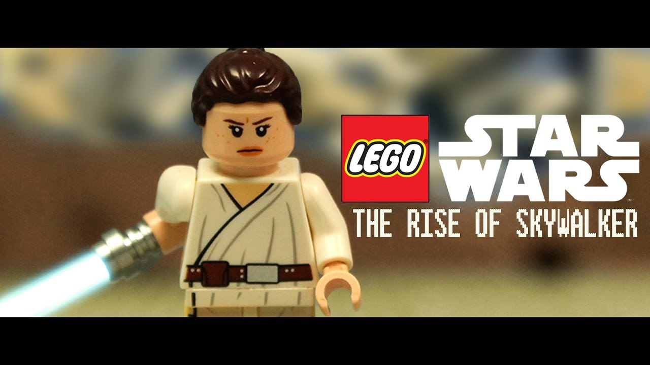 Lego Star Wars The Rise Of Skywalker Trailer Stop Motion Animation Youtube
