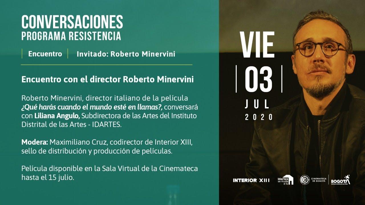 Encuentro con el director Roberto Minervini