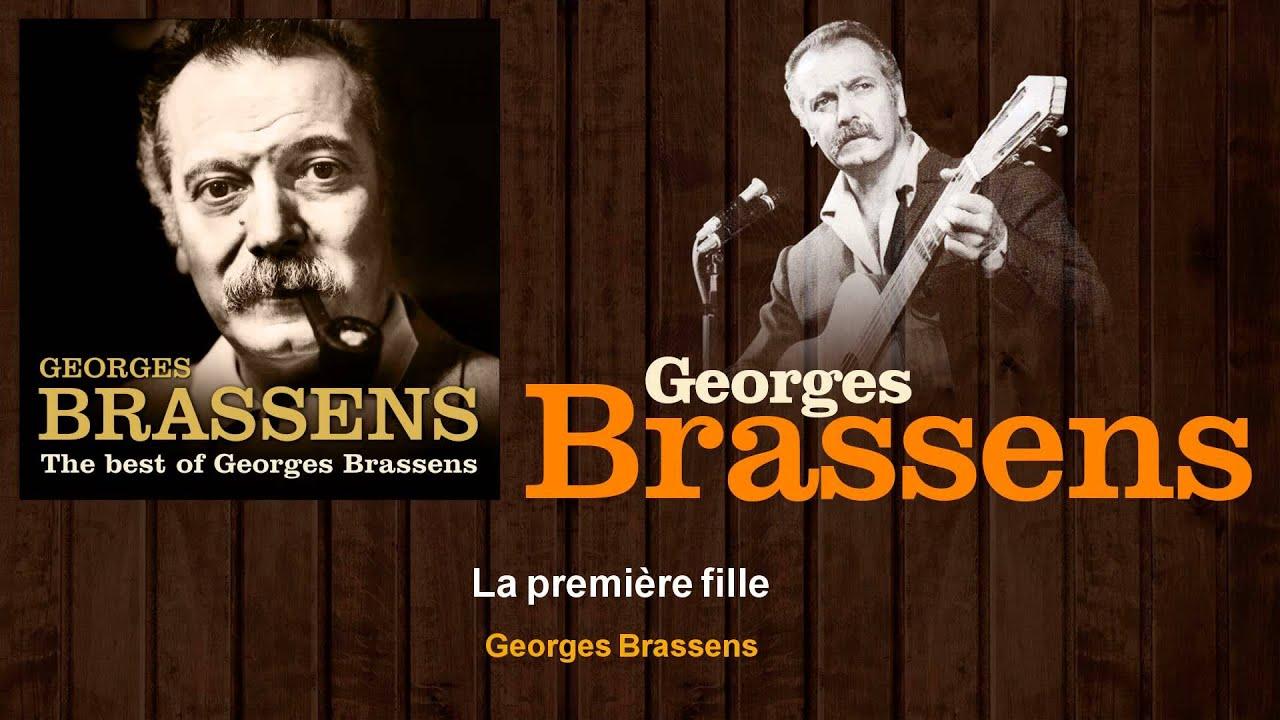 Tablature La Première Fille Brassens Georges