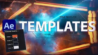 How to Use and Combine Templates in After Effects