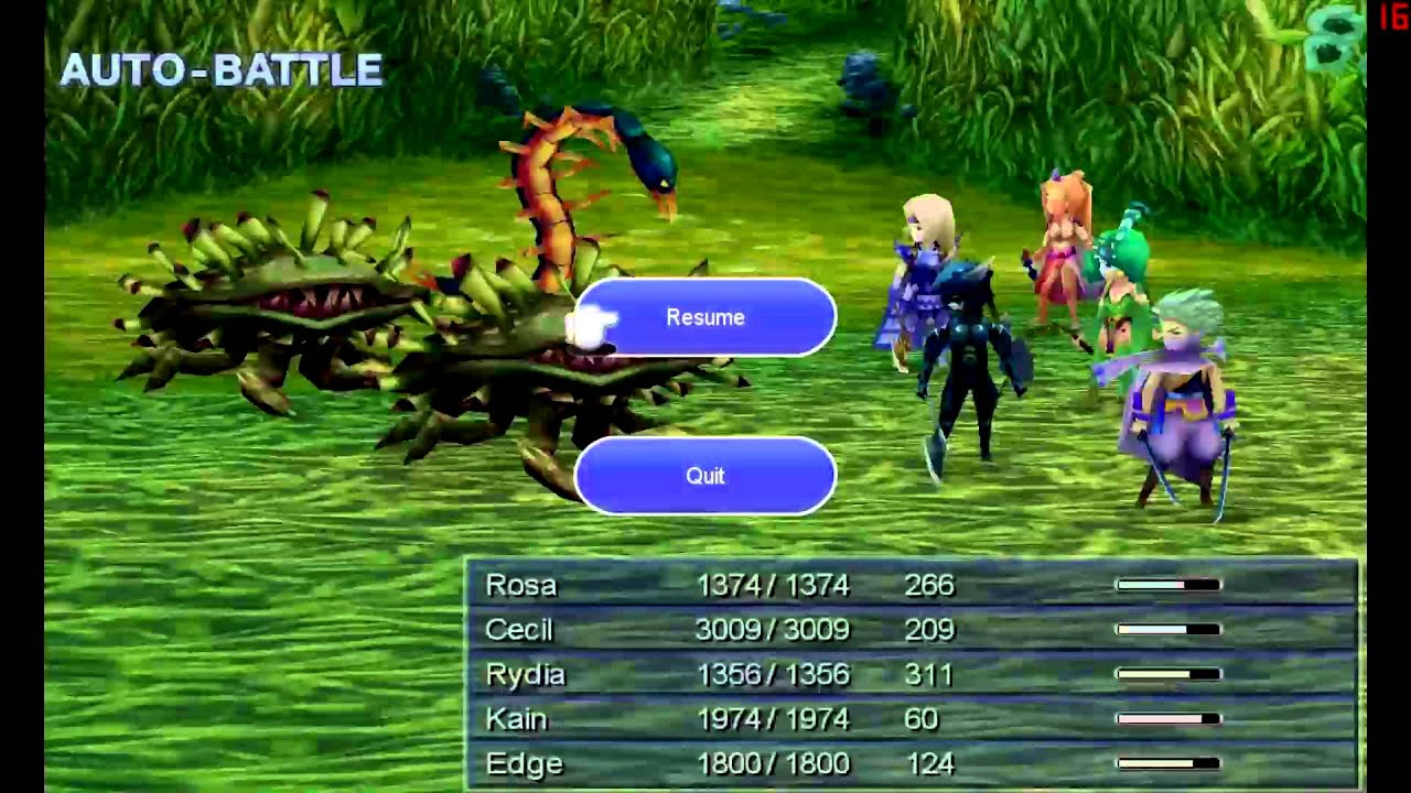 Let S Play Final Fantasy Iv Steam 020 Sylph Cave Hard Youtube