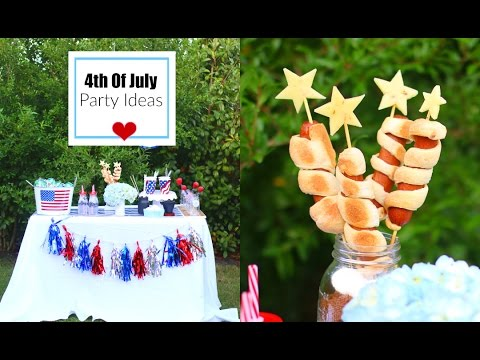 4th Of July Party Ideas, Food Recipe, DIY Decor, & More! - MissLizHeart