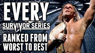 Every WWE Survivor Series Ranked From Worst To Best