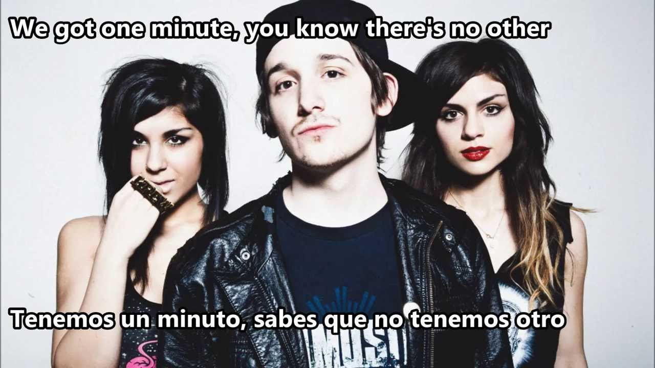 Krewella - One Minute [Subtitulado Español] - YouTube