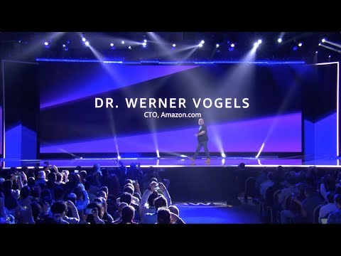 AWS re:Invent 2018 - Keynote with Werner Vogels
