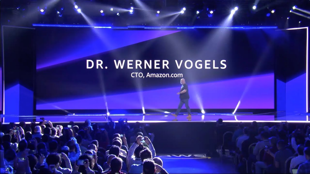 AWS re:Invent 2018 - Keynote with Dr. Werner Vogels