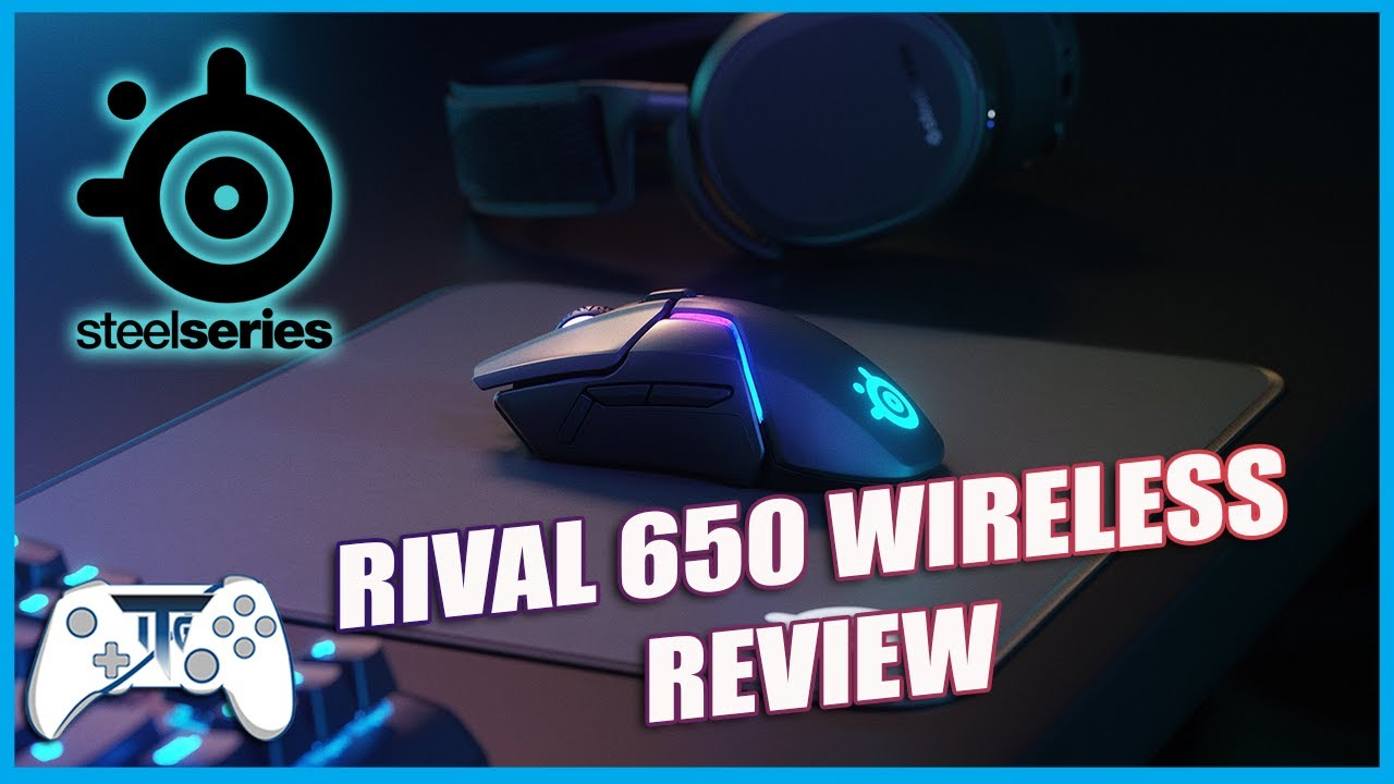 Steelseries Rival 650 Wireless Mouse Review (Video Game Video Review)