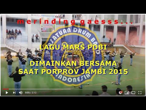 Mars PDBI dimainkan bersama2 di Porprov Jambi 2015