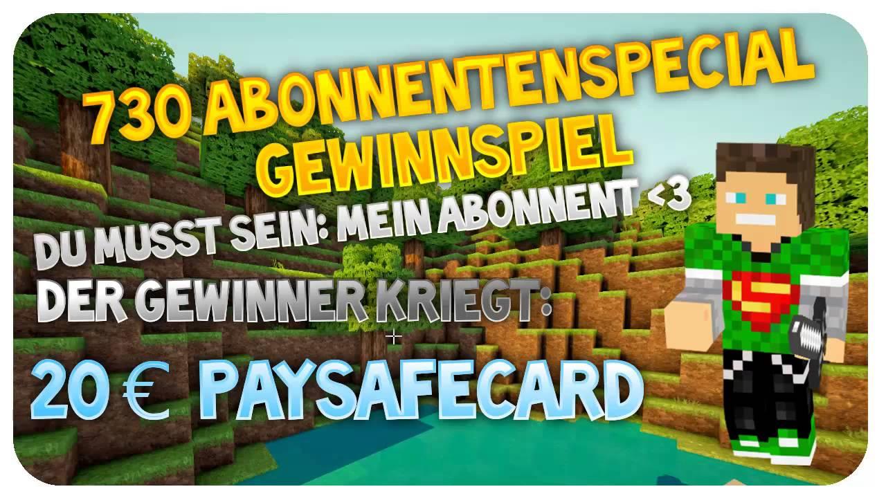 Paysafecard Gewinnspiel