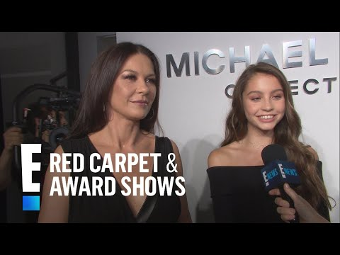 Catherine ZetaJones' Daughter Is Her Mini Me  E! Live from the Red Carpet
