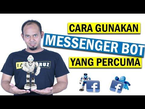 Cara Gunakan Messenger Bot FB Yang Percuma - ManyChat
