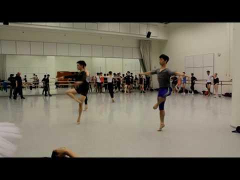 Masterclass with ballet master Jarmo Rastas