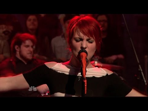 Paramore - Brick By Boring Brick  (Live on Jimmy Fallon)