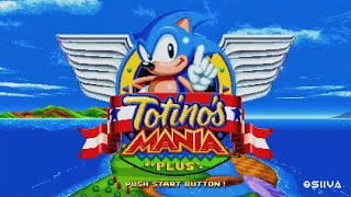Totino's Mania Playthrough (Sonic Mania Mod)