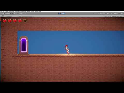 1st Time Using Unity - 2D Platformer Project Using The 2D Game Kit