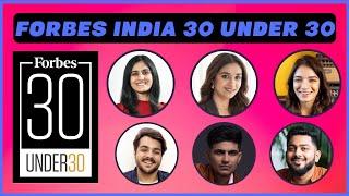 Forbes India 30 Under 30: Meet the Class of 2021 | Shefali Vijaywargiya | Ashish Chanchlani | Ritviz