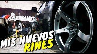 ¡Instalando los Nuevos Rines! | ManuelRivera11