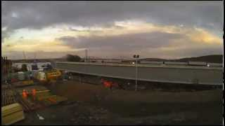 First South Viaduct Push Launch - December 2013