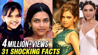 Deepika Padukone SHOCKING UNKNOWN Facts | From Ranbir To Ranveer | Happy Birthday Deepika Padukone